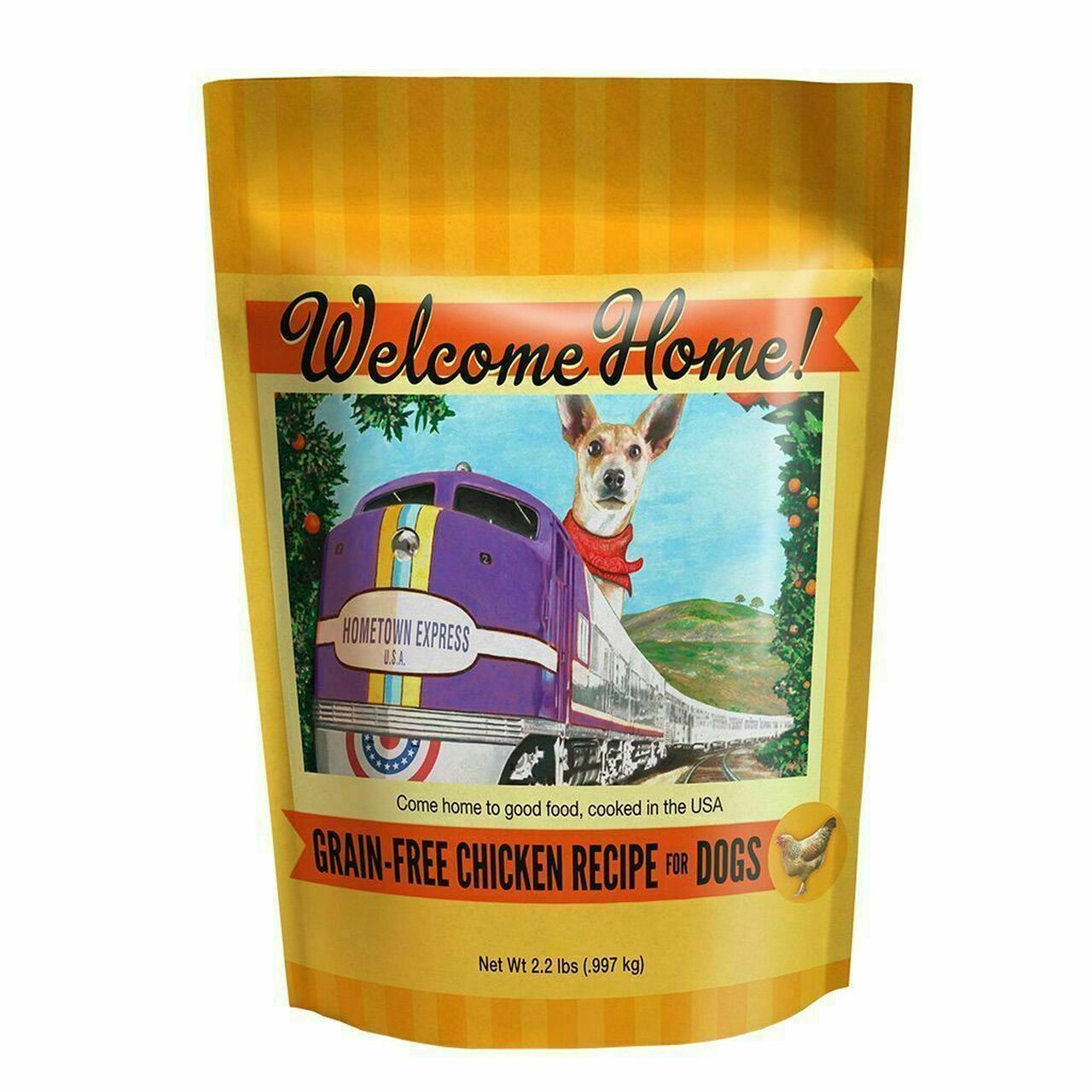 Welcome Home Dog Food Grain Free Chicken