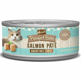 Merrick Purrfect Bistro Pate Wet Cat Salmon
