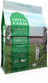 Homestead Turkey & Chicken Dry Cat Food | Open Farm
