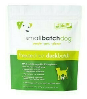 Smallbatch Dog Freeze Dried Duck Sliders 14oz