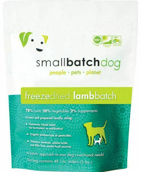 Dog Freeze Dried Lamb Sliders 14oz