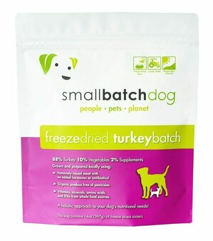 Dog Freeze Dried Turkey Sliders 14oz