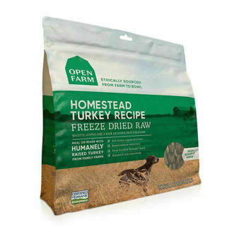 Open Farm Freeze Dried Raw Dog Food Packaging