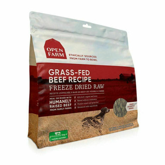 100% Grass-Fed Beef Freeze Dried Raw Dog Food | Open Farm