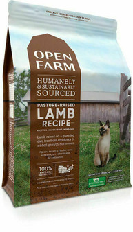 Pasture-Raised Lamb Dry Cat Food | Open Farm