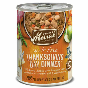 Merrick Thanksgiving Day Dinner Can Dog Food