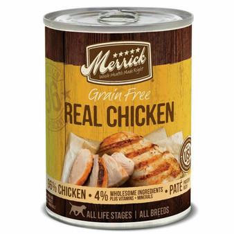 Merrick 96% Real Chicken Can Dog Food