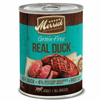 Merrick 96% Real Duck Can Dog Food