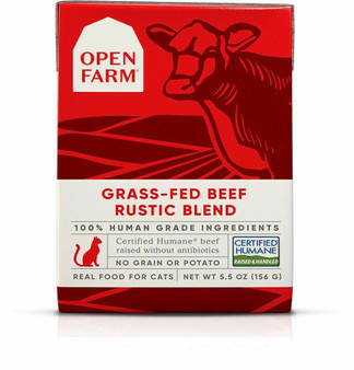 Grass-Fed Beef Rustic Blend Wet Cat Food | Open Farm