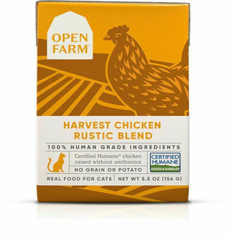 Harvest Chicken Rustic Blend Wet Cat Food | Open Farm