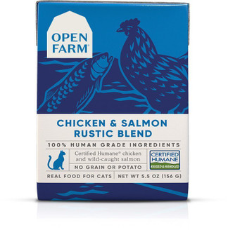 Chicken & Salmon Rustic Blend Wet Cat Food | Open Farm