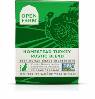 Homestead Turkey Rustic Blend Wet Cat Food | Open Farm