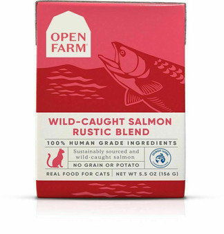 Wild-Caught Salmon Rustic Blend Wet Cat Food | Open Farm