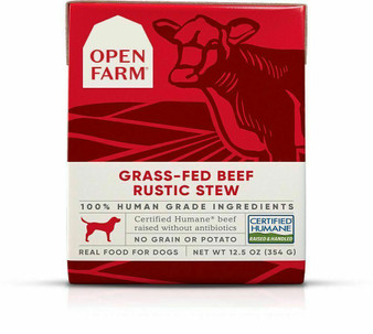 Grass-Fed Beef Rustic Stew Wet Dog Food | Open Farm