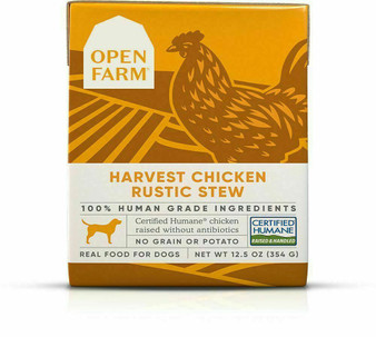 Harvest Chicken Rustic Stew Wet Dog Food | Open Farm