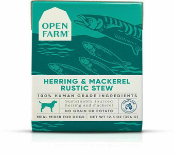 Herring & Mackerel Rustic Stew Wet Dog Food | Open Farm