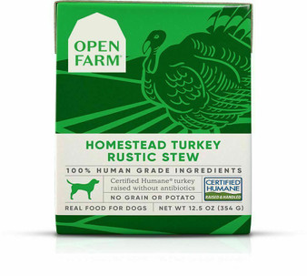 Homestead Turkey Rustic Stew Wet Dog Food | Open Farm