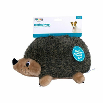 CUTE ANIMAL PLUSH: With soft faux fur and minimal seams, the Hedgehogz stuffed dog toy is an adorable fluffy character your pup will love to cuddle.