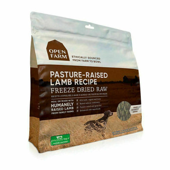 Pasture-Raised Lamb Freeze Dried Raw Dog Food | Open Farm
