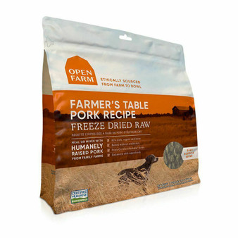 Farmer's Table Pork Freeze Dried Raw Dog Food | Open Farm