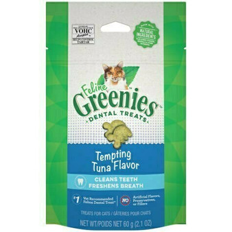 GREENIES - Cat Adult Oral Care Tuna Hard