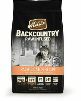 Merrick Backcountry Grain Free Pacific Catch Dry Dog Food with Raw Inclusion