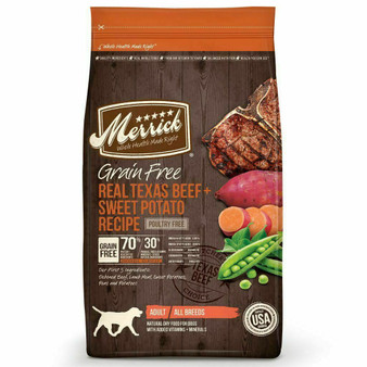 Merrick Grain Free Texas Beef Dry Dog Food