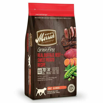 Merrick Grain Free Bison + Beef and Sweet Potato Dry Dog Food