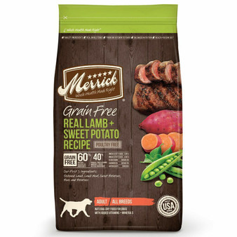 Merrick Grain Free Lamb and Sweet Potato Dry Dog Food