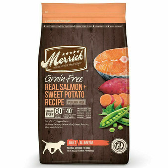 Merrick Grain Free Salmon and Sweet Potato Dry Dog Food
