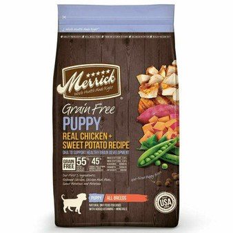 Merrick Grain Free Chicken Puppy Dry Puppy Food