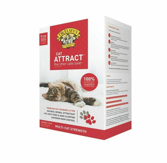 Dr. Elsey's Cat Attract 20lb Front