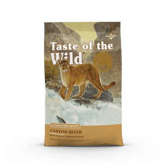 Taste Of The Wild Canyon River Feline Recipe with Trout & Smoked Salmon Dry Cat Food