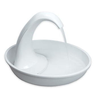 Swan Fountain Plastic (80 oz)