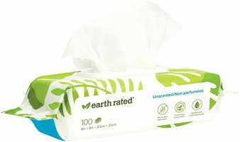 100 USDA Certified Biobased Wipes - Unscented