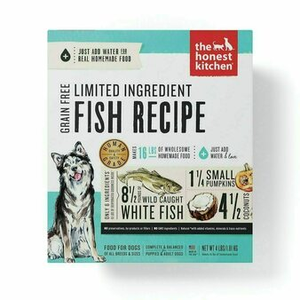 The Honest Kitchen Limited Ingredient Fish Dog Food Recipe