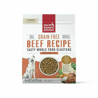 The Honest Kitchen Grain Free Beef Whole Food Clusters