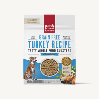 The Honest Kitchen Grain Free Turkey Whole Food Clusters