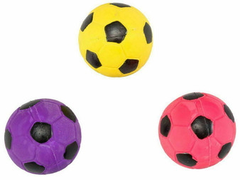 Group Image of Latex Soccer Ball Dog Toys
