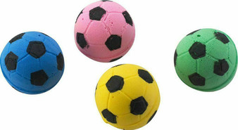 Group Image of Sponge Soccer Ball Cat Toys