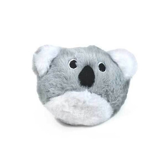 2 toys in 1! Cute Koala outer skin and find a prickle ball for never ending fun!