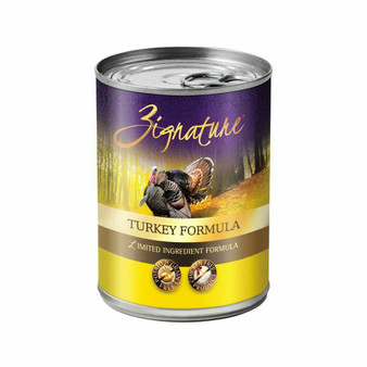 Zignature Turkey Formula Dog Food 13oz