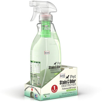 Our Gallon Specialty Kit of our Pet Stain & Odor Destroyer. Each kit makes 1 Gallon of cleaner.
