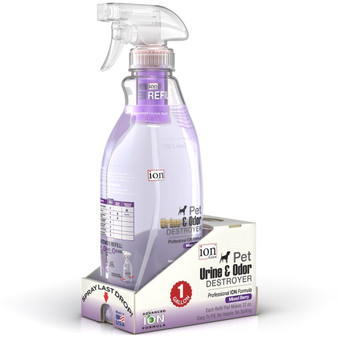 Our Gallon Specialty Kit of our Pet Urine & Odor Destroyer. Each kit makes 1 Gallon of cleaner.