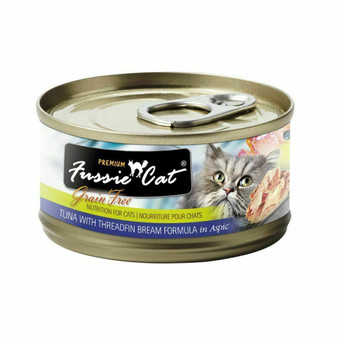 Fussie Cat Premium Tuna with Threadfin Bream Formula in Aspic 2.82oz