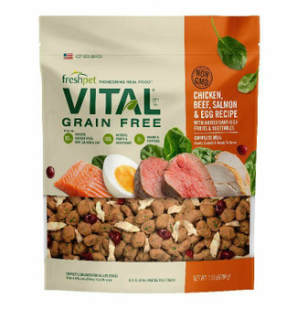 Freshpet Vital Grain Free Complete Meals for Dogs 1.75 LB