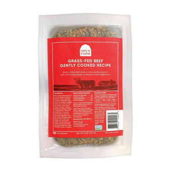 Grass-Fed Beef Gently Cooked Dog Food | Open Farm