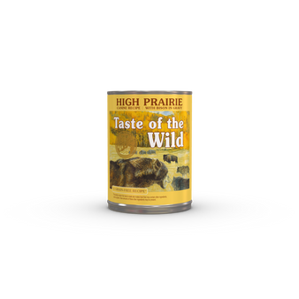 Taste Of The Wild High Prairie Canine Recipe with Bison in Gravy 13oz Can Dog Food