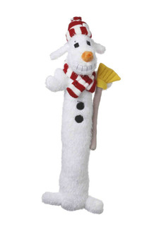This 12 inch Plush Loofa Snowman has a squeaker