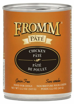 Grain-Free Chicken Pate for Dogs 12oz Can